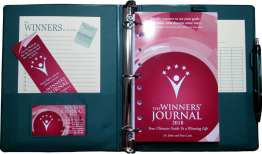 The Winners Journal - Deluxe 2018