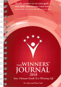 The Winners Journal - Spiral Bound 2018