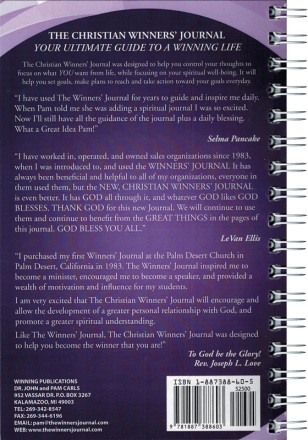 The Christian Winners Journal - Spiral Bound 2019