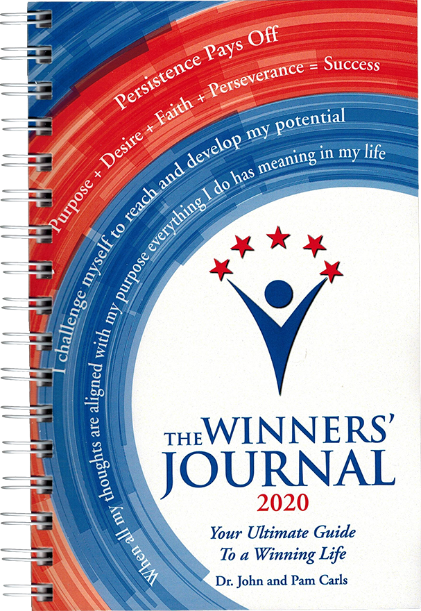 The Winners Journal - Spiral Bound 2020
