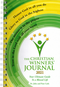 The Christian Winners Journal - Spiral Bound 2021