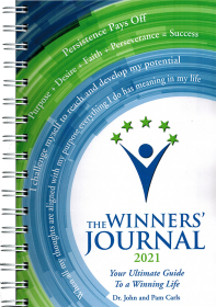 The Winners Journal - Spiral Bound 2021