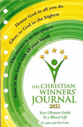 The Christian Winners Journal - Loose Leaf Journal Insert 2021