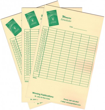 Schedule Pads